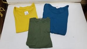 平成29年ファイナル!29円セール!チチカカ レディースベーシックボートネックロングスリーブTシャツ 3色 2サイズ 24枚入り