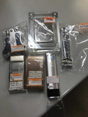 激安王が見つけたお宝品!高級ライター5個セット 6000円から8000円