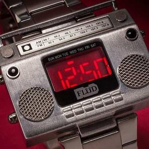 SALE!FLUD メンズラジカセ型 デジタル時計 12000円上代 1個だけ