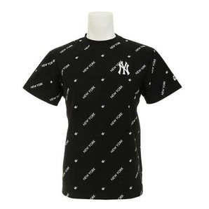 (マジェステック)Majestic  ニューヨーク ヤンキース バイアス 総柄Tシャツ MM01-NYK-0257