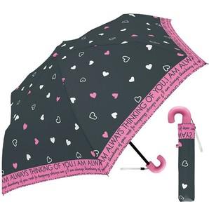 女児 折り畳み 50cm パラダイスハート 傘 2色12本入り 31062・31063