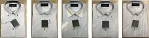 デパートでも展開!高級半袖Yシャツ デザイン混み混み30枚服箱