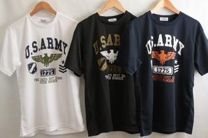 メンズ ドライ素材 プリント 半袖Tシャツ 2柄展開 30枚セット  品番:29-40083