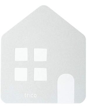 【trico】CTZ-16-01 珪藻土 バスマット 16個セット