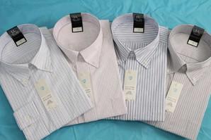 フレックス メンズ高級Yシャツ ボタンダウン 新商品 YB607 20枚セット