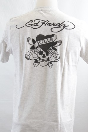ED8404【EDHARDY】 エドハーディー プリント 半袖Tシャツ 2P(2柄)×20組 画像使用OK