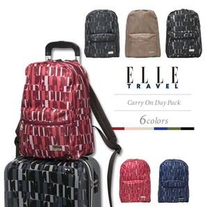 大特価!【ELLE /エルトラベル】リュックサック バッグ 3色展開 45個セット 品番:2EL8330DP
