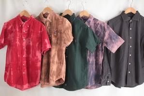 ラルフローレンやトミーヒルフィガー 大きいサイズをリサイズして新たに染めた ユーズドシャツ 50枚服箱 半袖&長袖混み