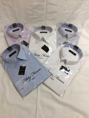 フレックス 紳士形態安定高級長袖ワイシャツ! 20枚セット!