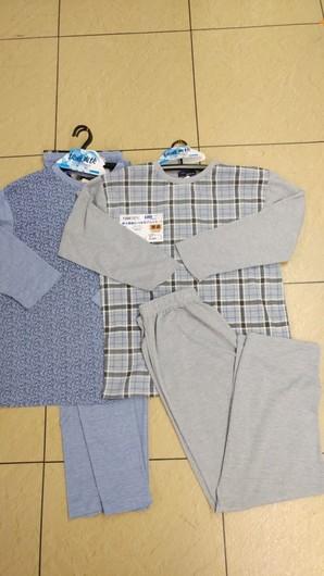 10881371【紳士】カノコ天竺 プリント パジャマ  24枚