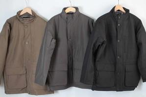【水甚】メンズ ソフポリ中綿ジャケット 3色展開 20枚セット