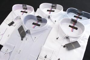 1セット復活!SUNMAX 高級Yシャツ ちょこっとだけ織斑ありの訳あり品 48枚混み混みセット
