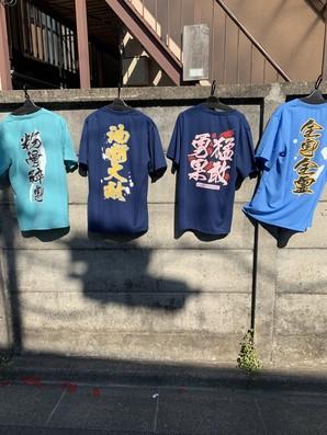 ドライメッシュ素材の面白Tシャツ12点のみです!