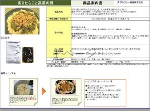 炙りたらこの具&九州産高菜の具  1キロ飯用具材セット  67セット限定