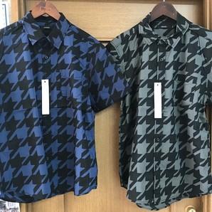 大阪買付目玉!【AMORTE】総柄プリント 半袖シャツ 2柄展開 16枚セット