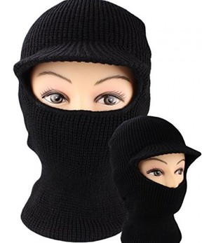 少量特価品◆防寒ニットマスク VISOR KNIT MASK BLACK